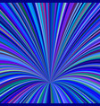 curved ray background - graphic from striped rays vector image vector image