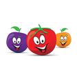 food trio vector image