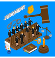 Judgment People vector image