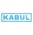 Kabul Rubber Stamp vector image vector image