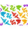 paint splash 3d realistic icon vector image vector image