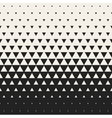 Seamless Black and White Morphing Triangle vector image