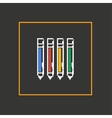 Simple stylish pixel icon handle design vector image vector image
