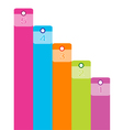 Colorful Modern Banner Business vector image
