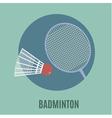 Badminton vector image