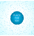 Abstract template background vector image vector image