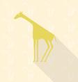 giraffe vector image vector image