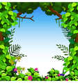 green forest for you design vector image vector image