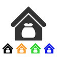 harvest warehouse icon vector image vector image