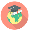 International Education Concept vector image vector image