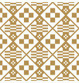 japanese seamless pattern gold texture bac vector image
