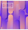 modern geometric design background vector image vector image