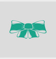 party bow icon vector image vector image