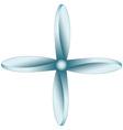 Propeller vector image vector image
