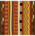 Seamless pattern Tribal style vector image vector image