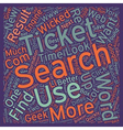 Search Like A Geek text background wordcloud vector image vector image