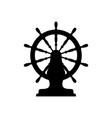 ships boats wheel vector image vector image