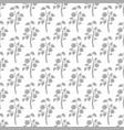 tomato plant seamless pattern tomato silhouettes vector image