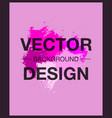 abstract watercolor splash watercolor drop banner vector image
