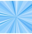 Blue rays background for your bright beams design vector image vector image