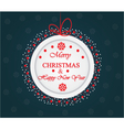 Winter holidays card vector image