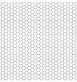 Honeycomb seamless pattern vector image