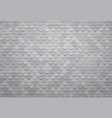 abstract gray square tile background vector image