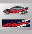 abstract sport racing car wrap decal and sticker