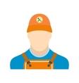 Auto mechanic avatar flat icon vector image