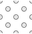 cookies pattern seamless black vector image vector image