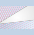 corporate abstract background with blue pink vector image vector image