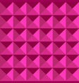 dimension pattern pink color vector image vector image
