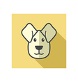 Dog icon Farm animal vector image vector image