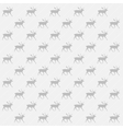 Gray and white reindeer background vector image