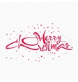 Merry christmas and happy new year 2017 insignia vector image