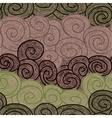 whorl seamless hand drawn pattern vector image vector image