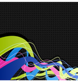 Abstract waves vector image vector image