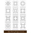 al 1122 ornaments vector image vector image