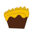 cake dessert pastry vector image vector image