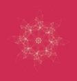 geometric pattern consist polygonal element vector image vector image