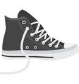 Grey sneakers vector image vector image