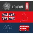 London landmarks design vector image vector image
