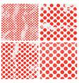 polka dot background vector image