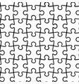 simple seamless pattern black and white vector image