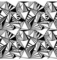 triangle seamless pattern texture vector image