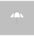 Umbrella computer symbol vector image vector image