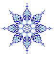 Antique ottoman turkish pattern design five vector image vector image