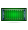 detailed of an american football fields eps10 vector image vector image