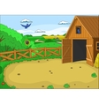 Farm cartoon educational vector image vector image
