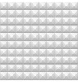 Geometric Seamless White texture for your design vector image vector image